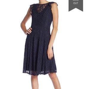 Gabby Skye Flutter Sleeve Midi Dress 12